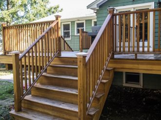 wood deck installation cost mobile al